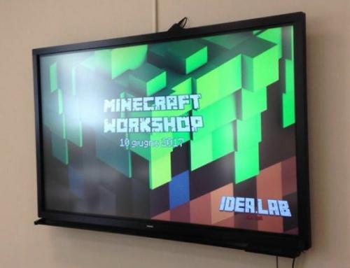 Progettare con Minecraft