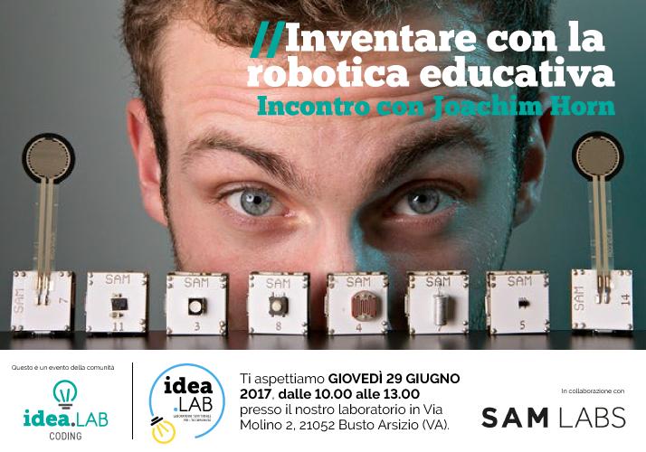 Inventare con la Robotica Educativa