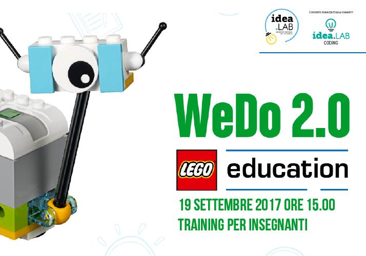 Lego WeDo 2.0 Training per insegnanti