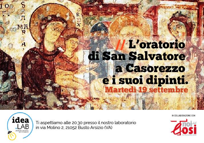 L'oratorio di San Salvatore a Casorezzo e i suoi dipinti