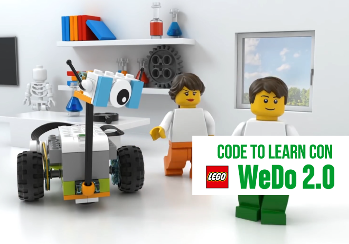 Code to Learn con Lego WeDo 2.0