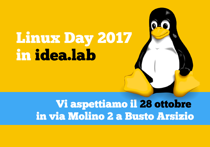 Linux Day 2017 in idea.lab