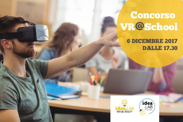 Concorso VR@School – La tua scuola in realtà virtuale